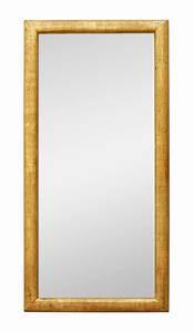 Miroir Doré Rectangulaire : grand miroir ancien bois dor patin moulure 1950 ~ Teatrodelosmanantiales.com Idées de Décoration