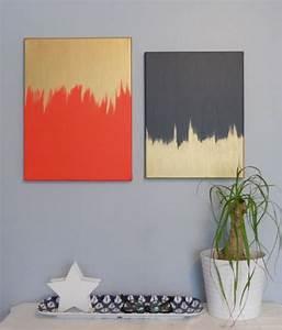 Creative and easy diy canvas wall art ideas