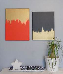 25 creative and easy diy canvas wall art ideas With diy wall art