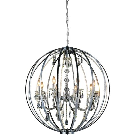 Large Circular Chandelier by Brizzo Lighting Stores 38 Quot Led Cage Modern