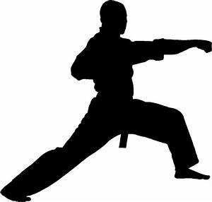 Karate Punch Sticker Car Window Decal Fight Kick Neat Gift