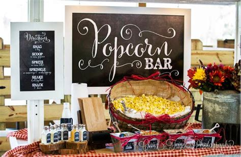 Tips For Setting-up A Party Diy Popcorn Bar