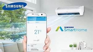 Samsung Smart Home : how to connect samsung smart home with samsung air conditioner youtube ~ Buech-reservation.com Haus und Dekorationen