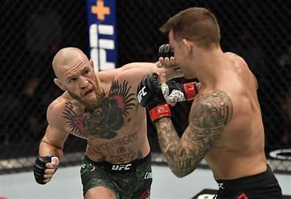 Mcgregor Conor Poirier Dustin Defeat Said Punching