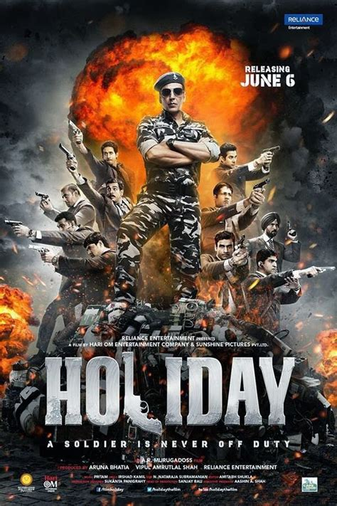 Akshay Kumar Holiday A Soldier Is Never Off Duty First