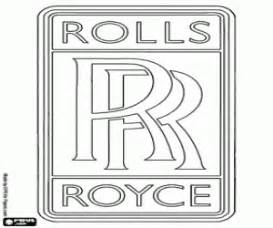 rolls royce logo drawing car brands coloring pages printable games 2
