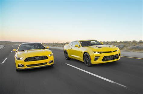 Camaro Ss Vs Mustang Gt by 2016 Chevrolet Camaro Ss Vs 2016 Ford Mustang Gt 2