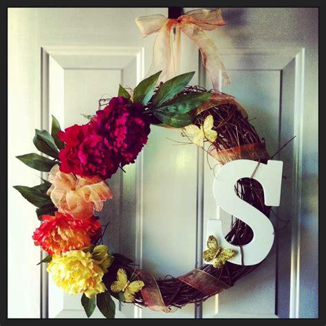 easy diy wreaths easy diy summer wreath craft ideas pinterest
