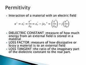 Waveguide Fixture Based Permittivity Determination Of Non