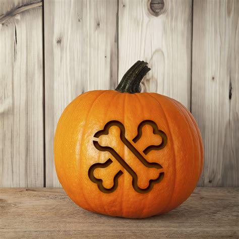 halloween carve craft  dog pumpkin stencils