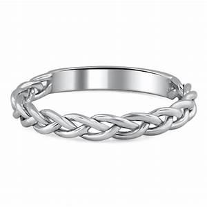 Custom Braided Wedding Ring Brilliant Earth