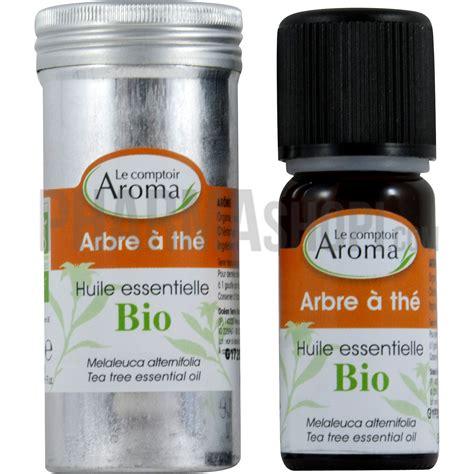 huile essentielle d arbre 224 th 233 le comptoir aroma flacon