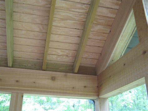 Install A Beadboard Porch Ceiling — All Furniture