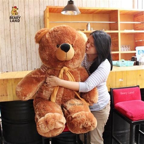 jual boneka teddy bear beruang coklat jumbo besar