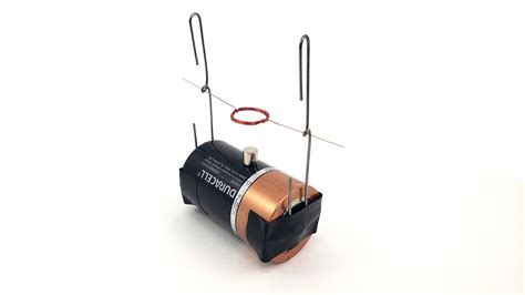 Electric Motor Experiment by Build A Simple Electric Motor
