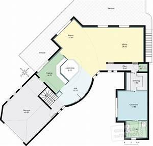 maison d39architecte 2 detail du plan de maison d With plan de maison architecte