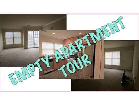 Empty Apartment Tour!  Youtube