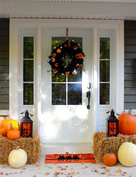 halloween porch decor pier  gift card giveaway sweetopia