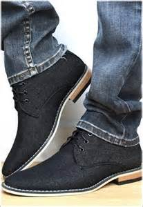 Black Jeans Casual Dress Shoes for Men