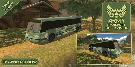 Get Army Transport Bus Driver 3d