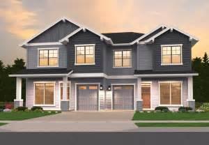 craftsman duplex ms architectural designs house