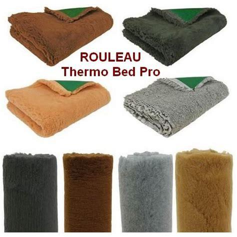 tapis thermo vet bed en rouleau pour chien accessoires pour le couchage du chien et du chiot