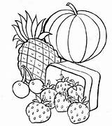 Coloring Pages Healthy Printable sketch template