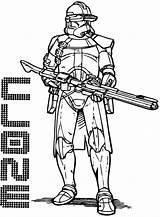 Clone Trooper Coloring Stormtrooper Printable Wars Categories Coloringonly sketch template
