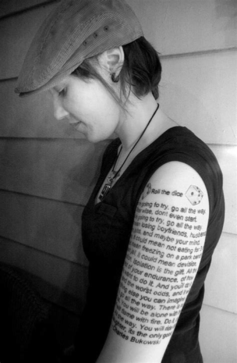 Literary Tattoo Ideas: Quotes from Books | TatRing