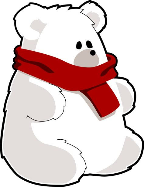 polar bear images cartoon   clip art