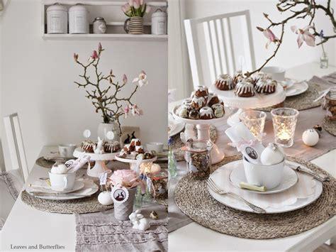 weihnachtsdeko für den tisch leaves and butterflies ein gedeckter tisch zu ostern gedeckter tisch gedeckter tisch tisch