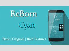 Download ReBorn Cyan CM AOSP Theme v27 Full Apk Ada