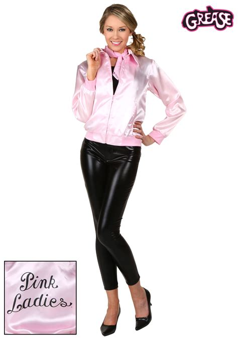 Grease Pink Ladies Costume Jacket for Women