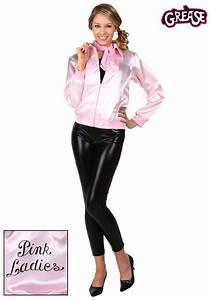 Adult Grease Pink Ladies Jacket