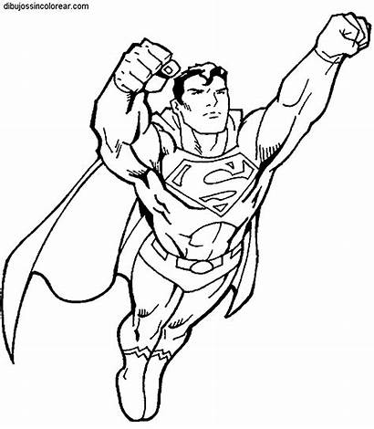 Superman Coloring Pages Super Heroes