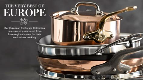 cookware sonoma williams italian french steel stainless european germany diamond denmark france demeyere italy swiss woll europe berndes le pottery