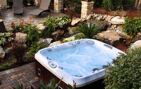 outside tub ideas outdoor jacuzzi hot tubs ideas home interior exterior