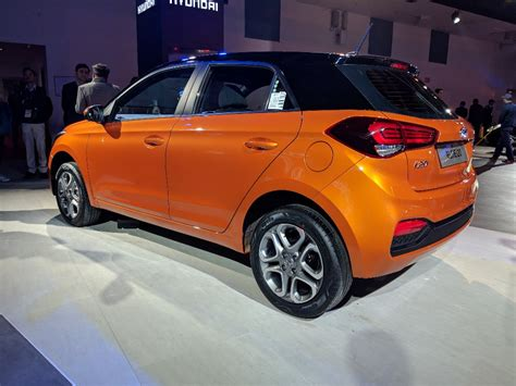 2018 Hyundai I20 (facelift) Passion Orange With Black At