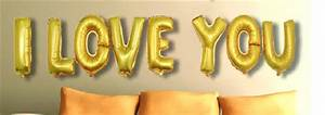 diy i love you alphabet aluminium foil balloons party set With i love you letter balloons