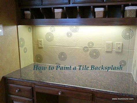 How To Paint Over Tile Backsplash : A Temporary Fix For An Ugly Backsplash