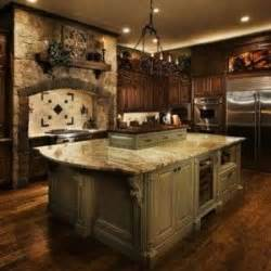 tuscan kitchen island tuscan kitchens i the warmth of the woods