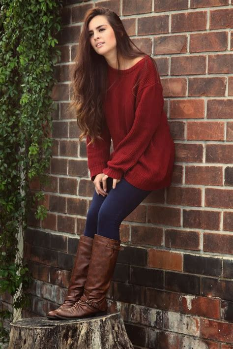 burgundy sweater womens see more black with warm baggy sweater and boot