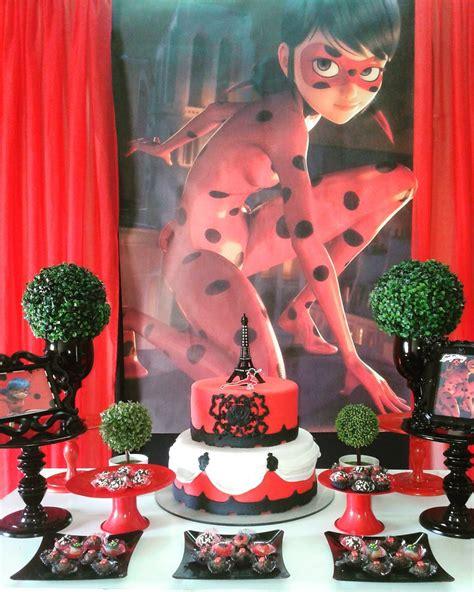 Festa Infantil Miraculous Ladybug 15 Decoraes De Arrasar