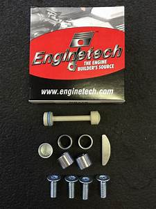 Dowel Pin Woodruff Key Oil Galley Plugs For Chevrolet Gen