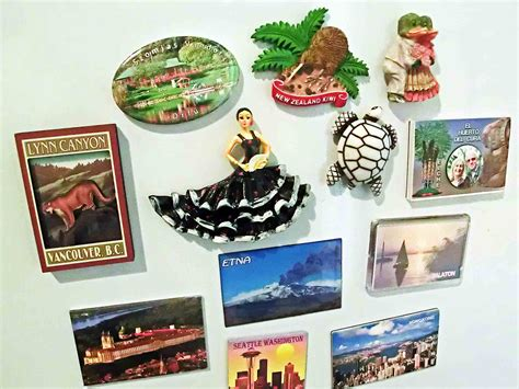 My World In Fridge Magnets