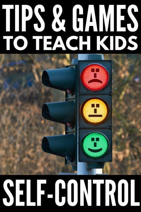 teach children  control   discipline