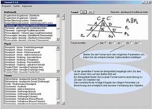 Kreiszylinder Berechnen : mathe software zum umstellen und berechnen von formeln ~ Themetempest.com Abrechnung