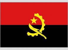 Angolan Flags Angola from The World Flag Database