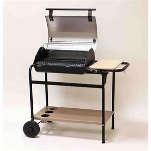 Barbecue Cuve En Fonte : somagic tambora barbecue charbon en fonte sur chariot 61x42 cm comparer avec ~ Nature-et-papiers.com Idées de Décoration