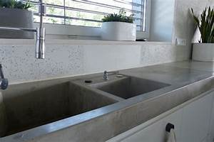 Kuchenarbeitsplatte aus beton dockarmcom for Küchenarbeitsplatte beton